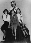 Miss Central contestants of 1950