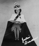 Jackie Donaldson crowned Miss Central of 1950