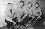 1966/1967 Boy's Curling Team  Skip: Greg Balderston, Third: Graham Thompson, Second: Ron Davies. Lead: Craig Moore
