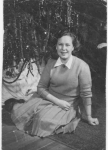 Betty MacTavish taken about 1947. She graduated CCi in 1950