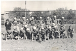 Sr. Football team 1948.  Coach  Robinson
