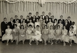 Class (4A)1961 Formal Grad Photo