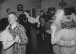 Drama Club holding a dance party in the McCaslin Home  in 1949
