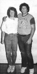 1983 Students of the Year Laura Wills and Gary Baba