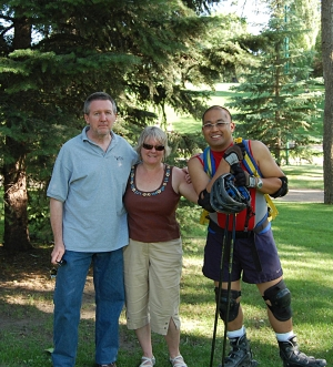 Don Dickinson (web guy), Debbie Cowan (Co-chair), Deign Salido (Co-chair)