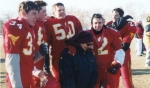 Nathan Belrose, Nelsen Locken,Brent Busse, Assaf Barkaie(and Mom, Rachel), and Steve SchimlProvincial Champs Nov 2003