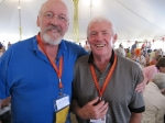 Harley Brown and Classmate John Livingston (Class of '57)